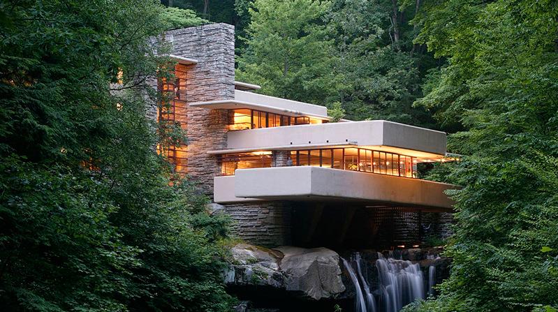 Resultado de imagen de casa de la cascada