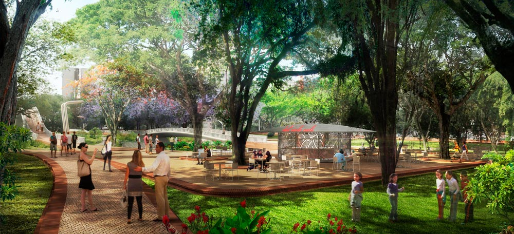 Proyecto de revitalizacin Ro Cali por West 8  METALOCUS