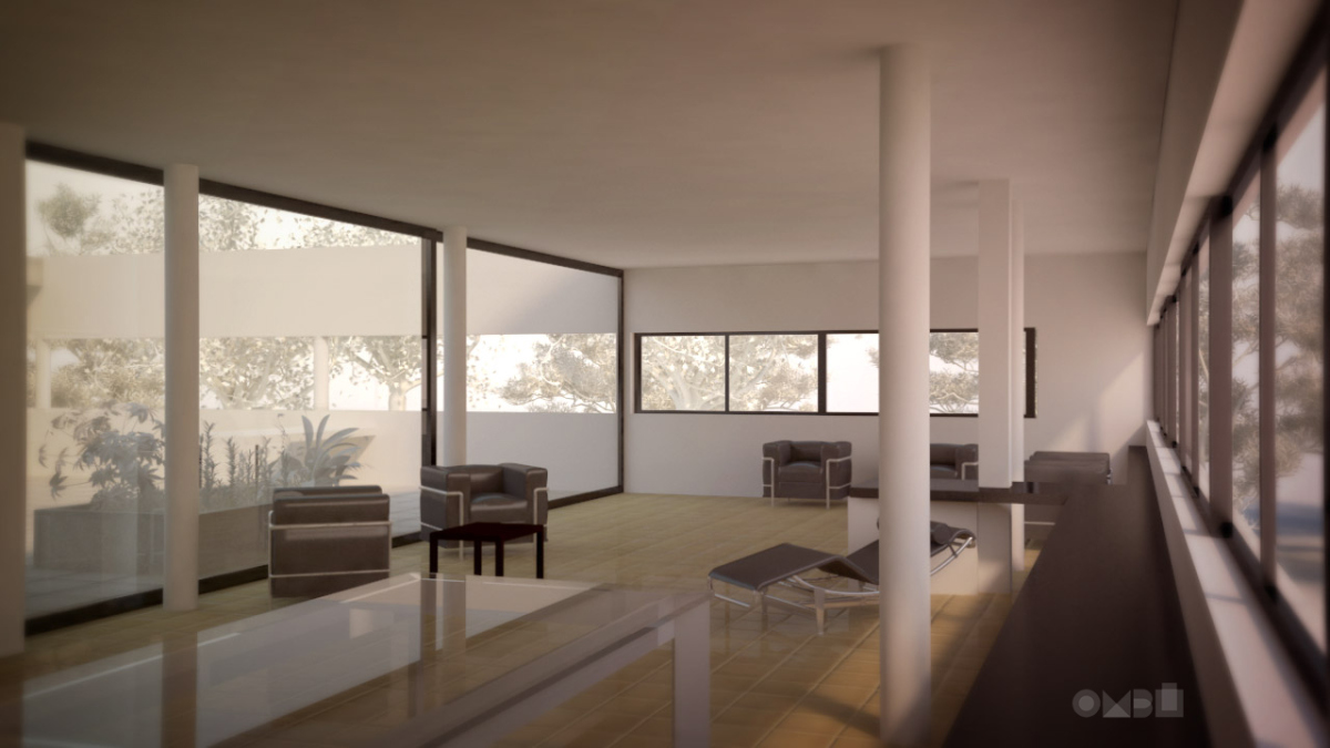 Villa Savoye The Five Points Of A New Architecture