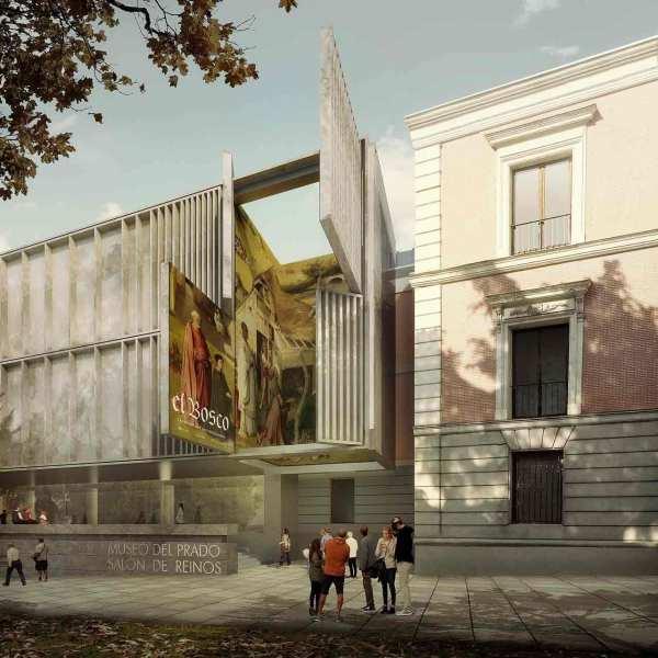 Extension Proposal El Prado Museum Nieto Sobejano Metalocus