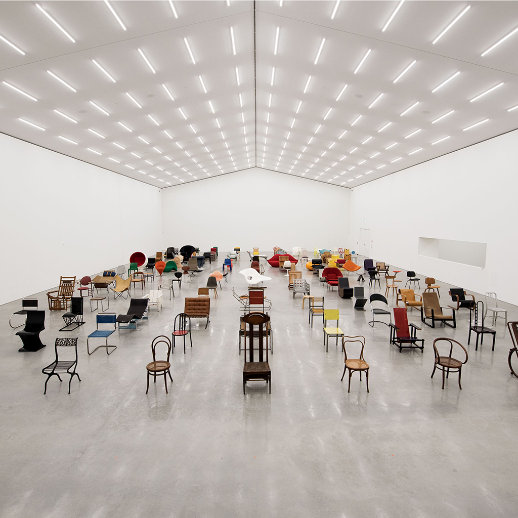 chair design museum chiavari chairs opening of the vitra schaudepot new gallery building to