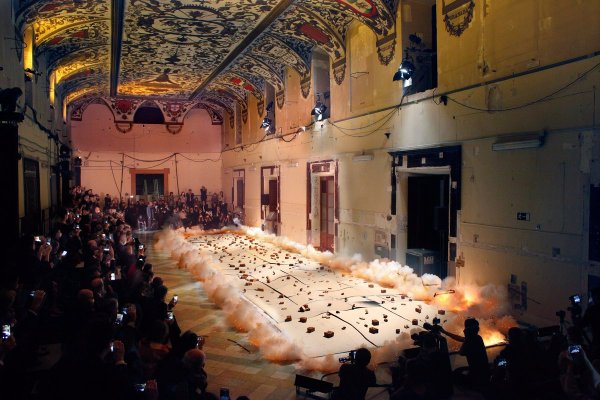 Gunpowder And Explosions In Museo Del Prado. ""