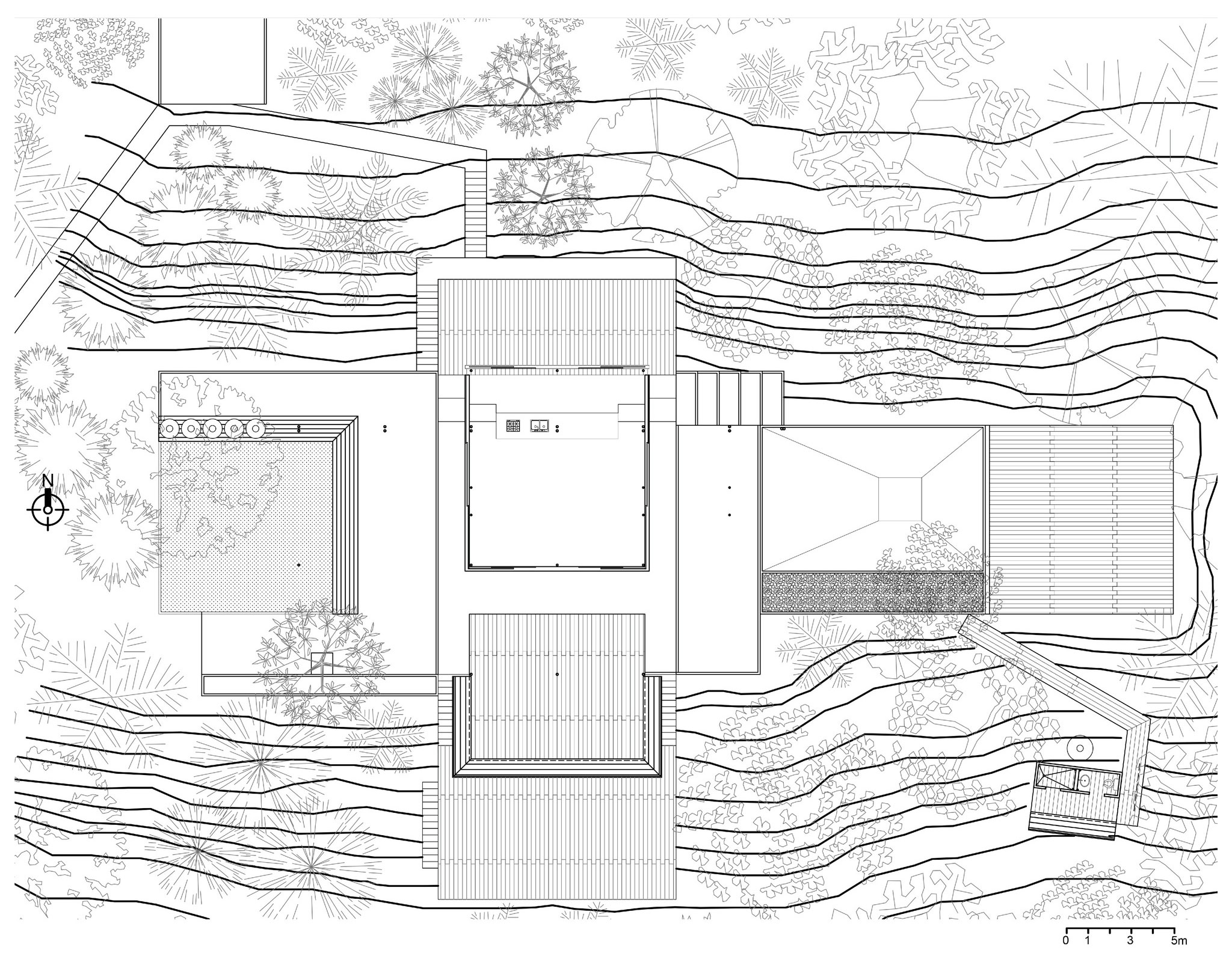 A House Completely Open To The Landscape Salo House By
