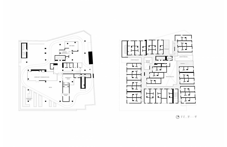 Star Apartments by Michael Maltzan finalist in the MCHAP
