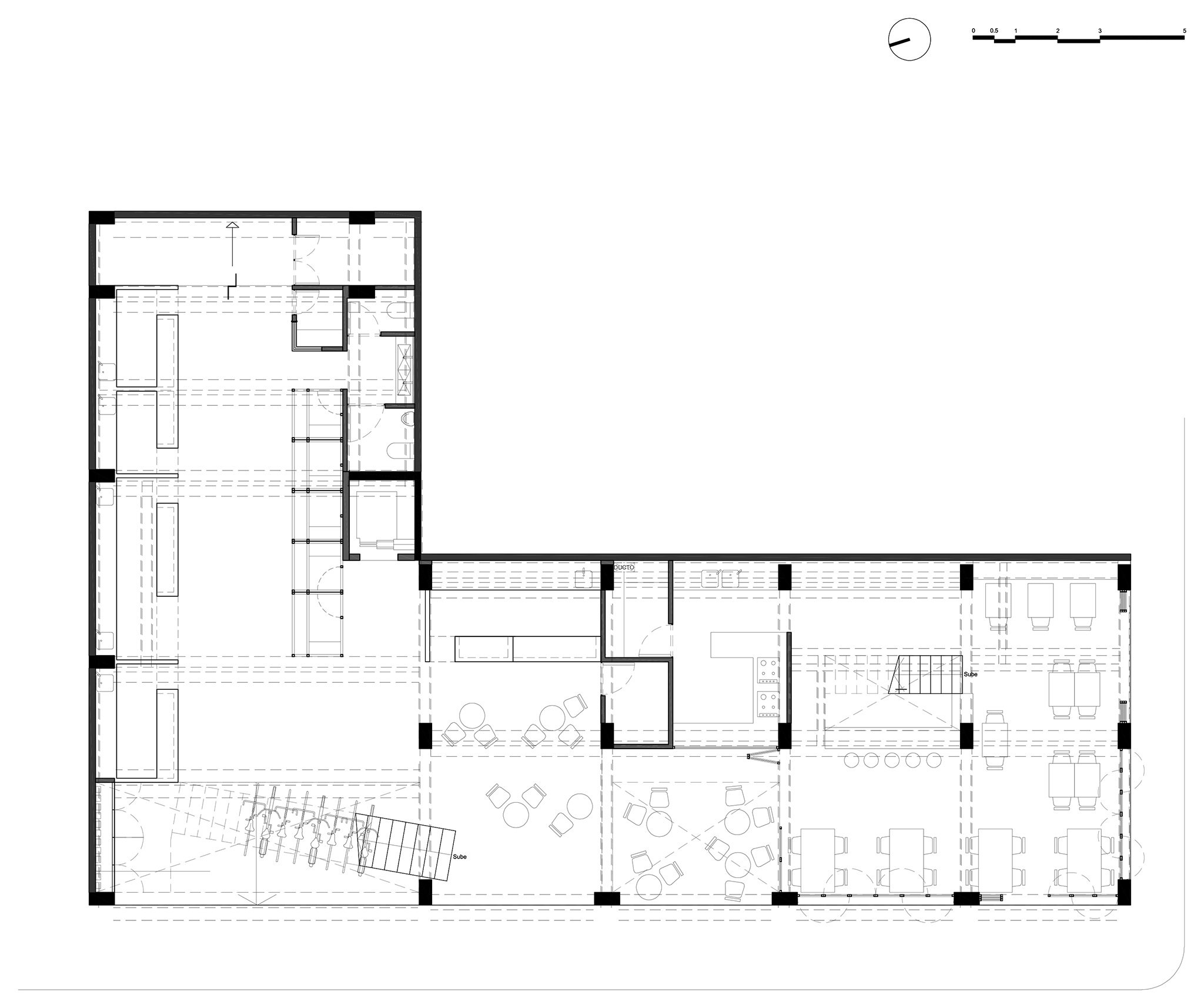 Milán 44 by Francisco Pardo Arquitecto. From warehouse to