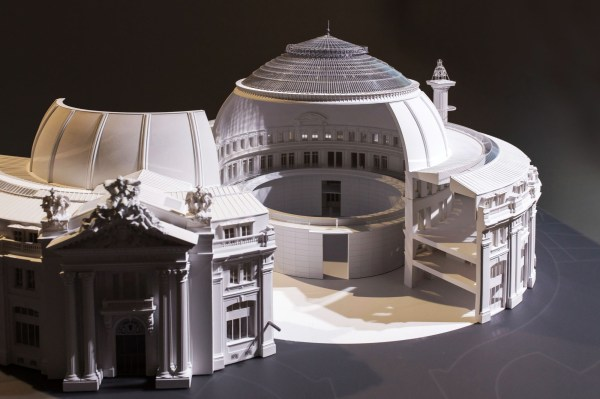 Tadao Ando Design Museum Paris Stock Exchange Metalocus