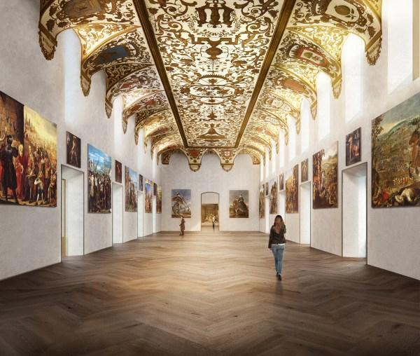El Prado Museum Interior