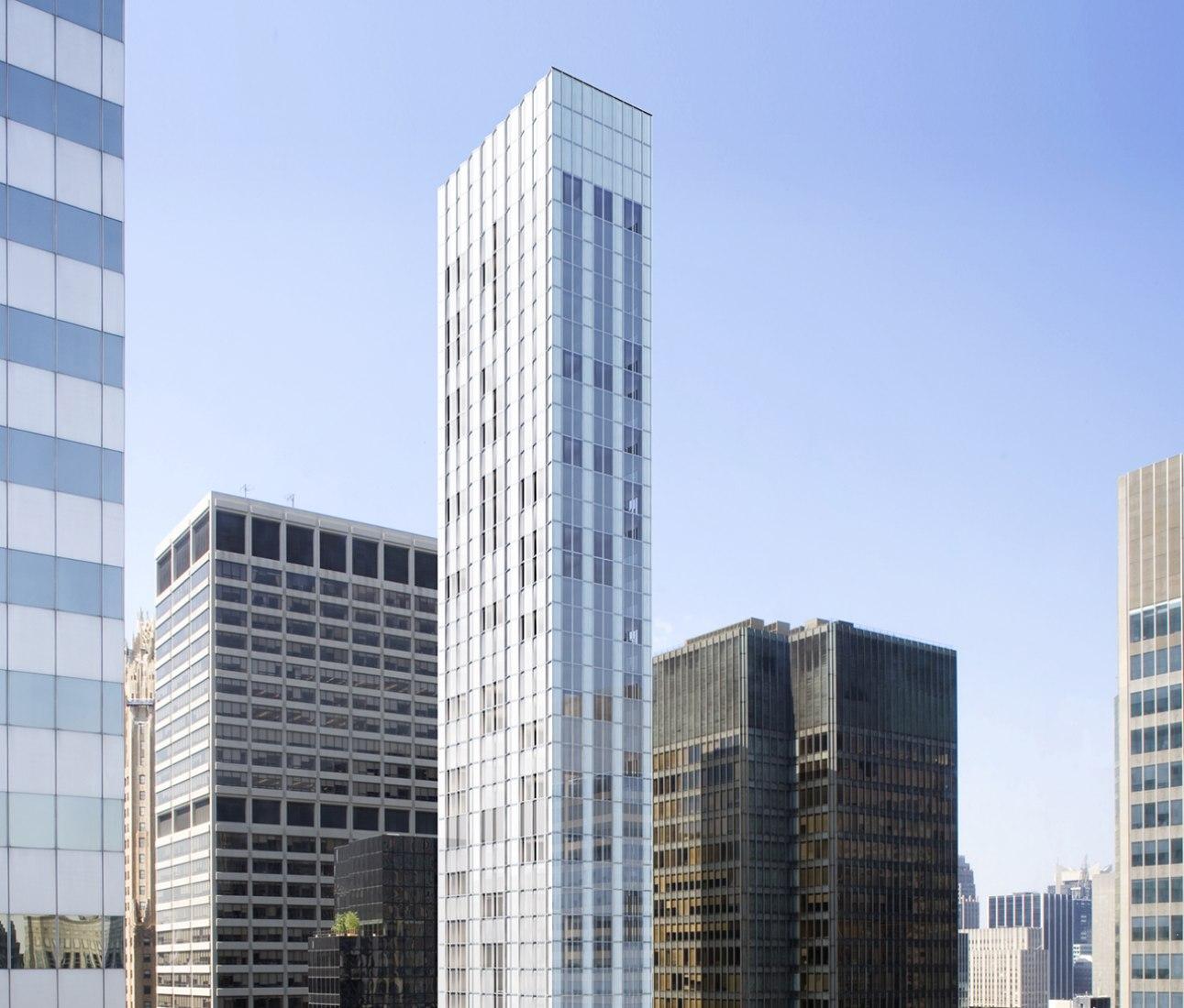 Rascacielos De Foster Al Lado Del Seagram Building Mies Sobre Arquitectura Desde 1998