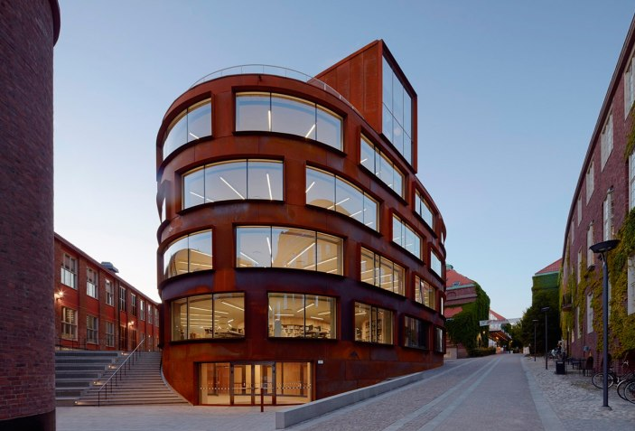 Kth New School Of Architecture By Tham Videgards The Strength Of Architecture From 1998