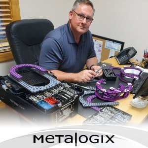 Dr. Paul Bishop using Metalogix External Plating System
