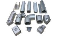 Die Cast Aluminium Alloy Pipe Aluminium Connector With ...
