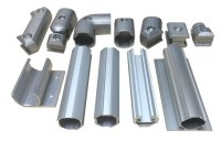 Aluminum Pipe Connectors and Fittings 1.7 mm Aluminum ...