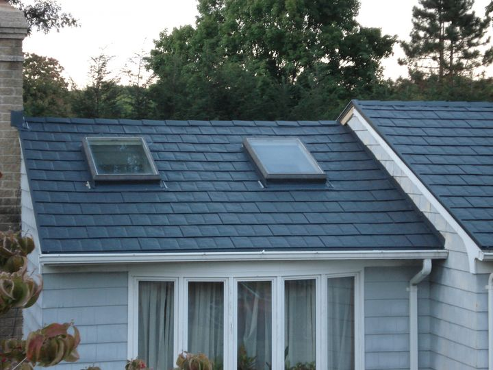 metal shingles roof