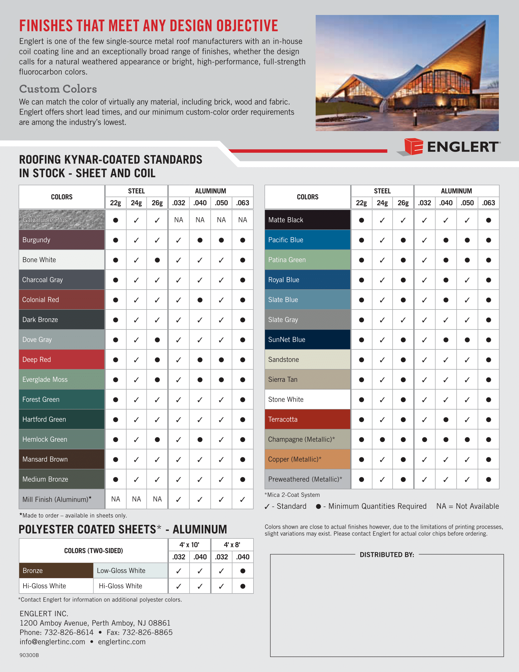 How to pick the right metal roof color consumer guide 2017 englert 2 nvjuhfo Choice Image