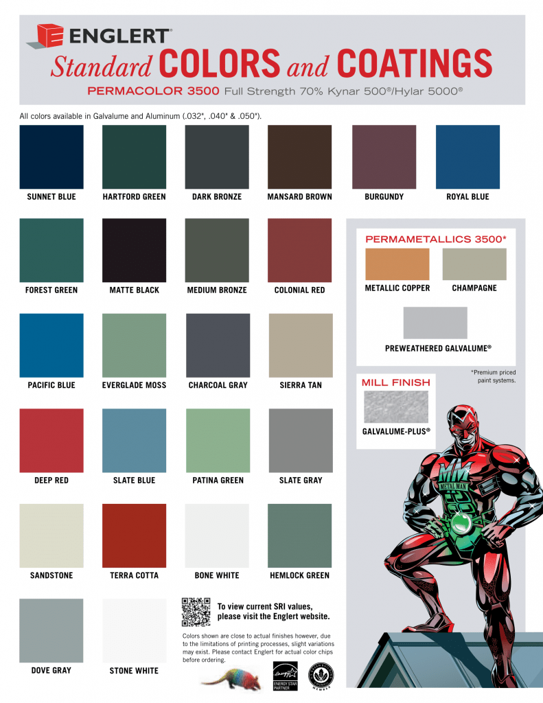 Englert Color Chart