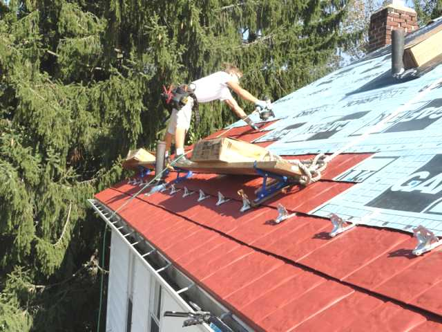 Installing Metal Roof Over Shingles : How to install a metal shingles roof diy guide