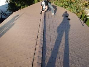 ridge-vent-cap installation