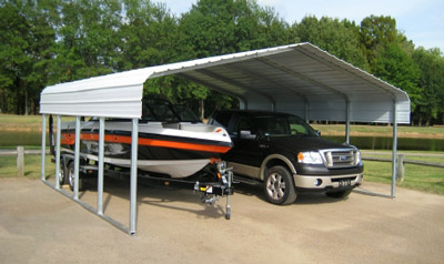 Versatube Carports By Metal Roofing Supply Memphis