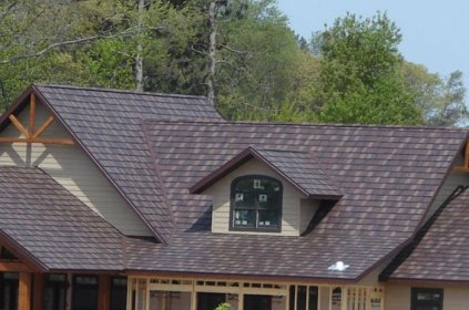 Steel shake roofing installed by Metal Roof Outlet