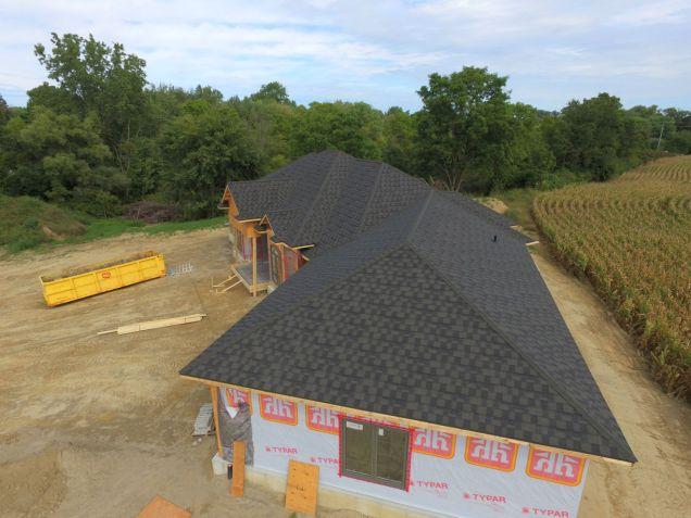 Courtland Ontario_Steel Shingle_Metal Granite Ridge Shingle_Onyx_Metal Roof Outlet Ontario