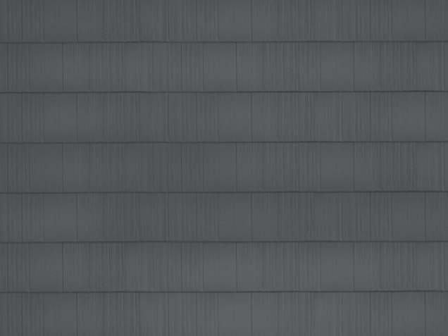 sample image of Arrowline Shake-style roof in Charcoal-Gray available from Metal Roof Outlet