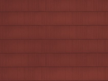 sample image of Arrowline Shake in Classic-Red available from Metal Roof Outlet