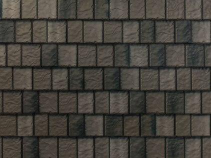 Arrowline Metal Roof - T-tone Blend - Slate Look Metal Roof