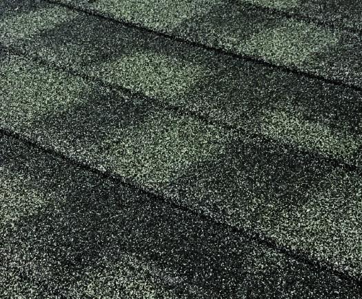 Granite Ridge Stone-Coated Metal Shingles - Ironwood