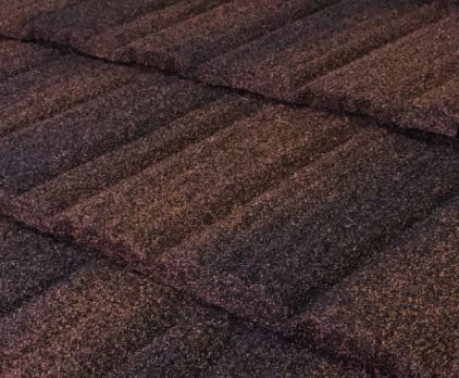 Pine Crest Shake Stone Coated Metal Roof - Colour Barclay