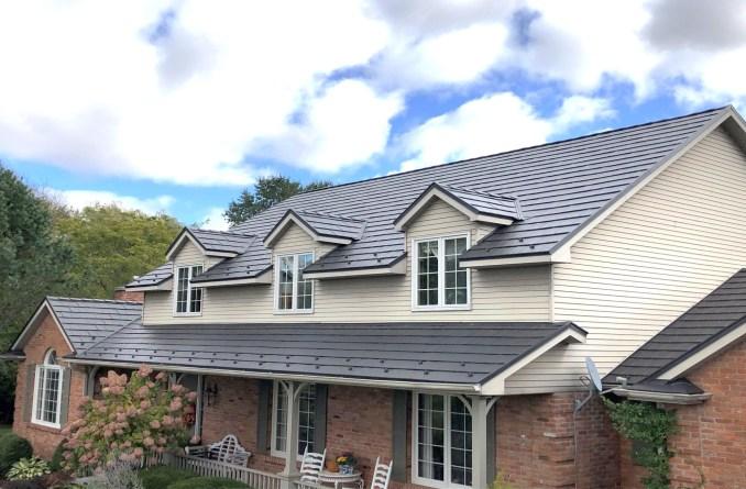 metal roofing Boral Steel Armadillo Shake Lava