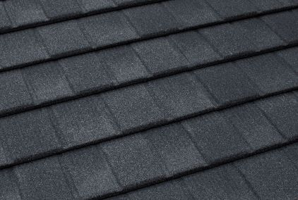 TilCor Concealed Fastening shingle in the colour Charcoal