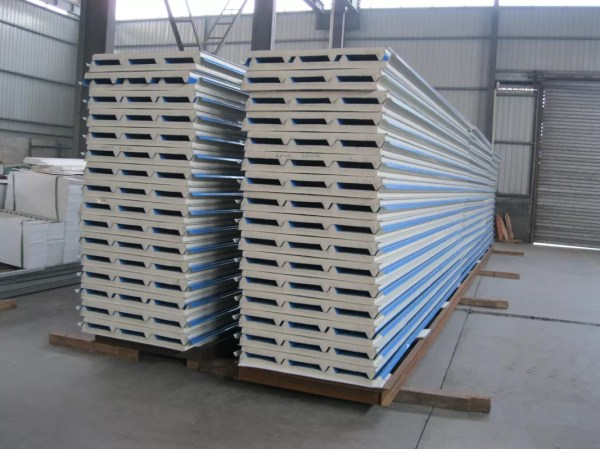 Corrugated Metal Roof Sandwich Panels