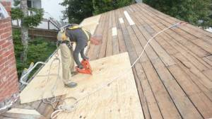 roof deck prep