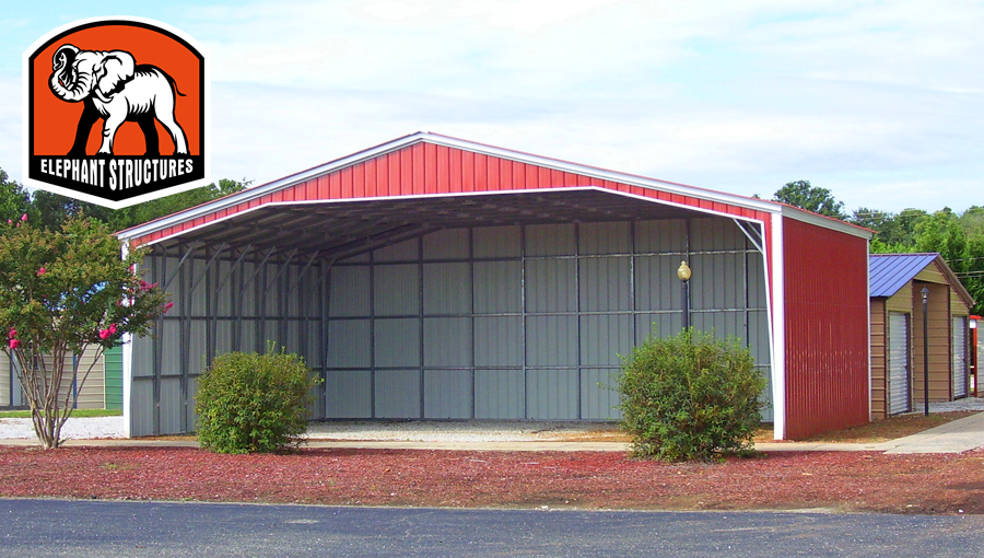Metal Shelter Kit For Ease Of InstallationMetal Shelters