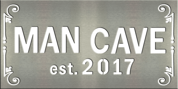 Man Cave Store Riverside : Quot x man cave tile metal signs and your designs