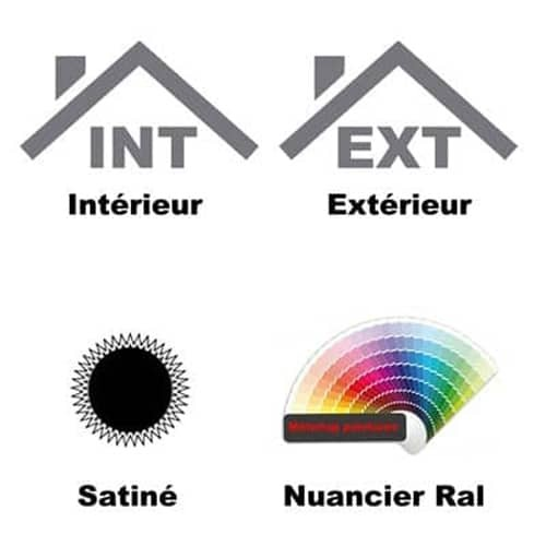 antirouille couleur