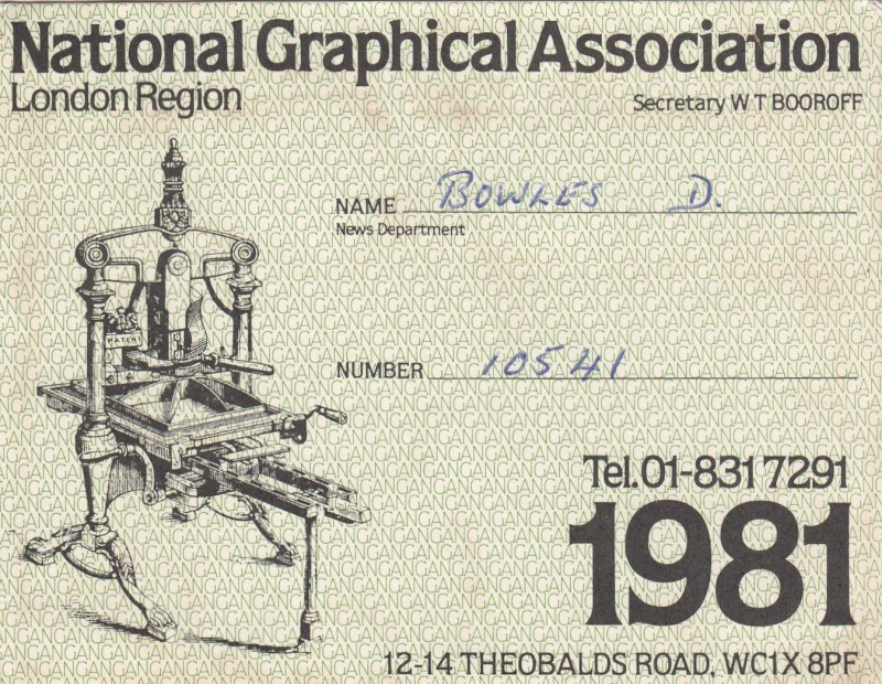 National Graphical Association 1981