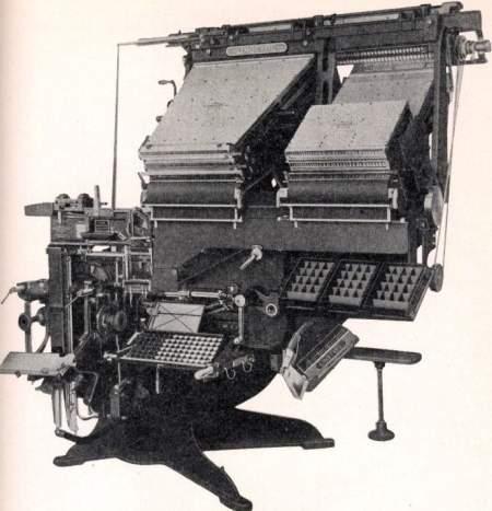 Linotype Model 30