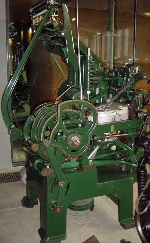 Linotype Model 1