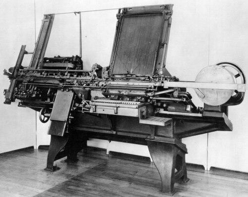 Paige Typesetter 1887