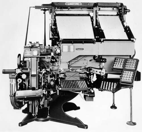 Blue Streak Model 34 with Hydraquadder. Non-mixer display machine