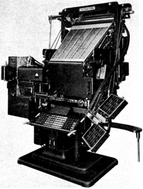 The Intertype Fotosetter