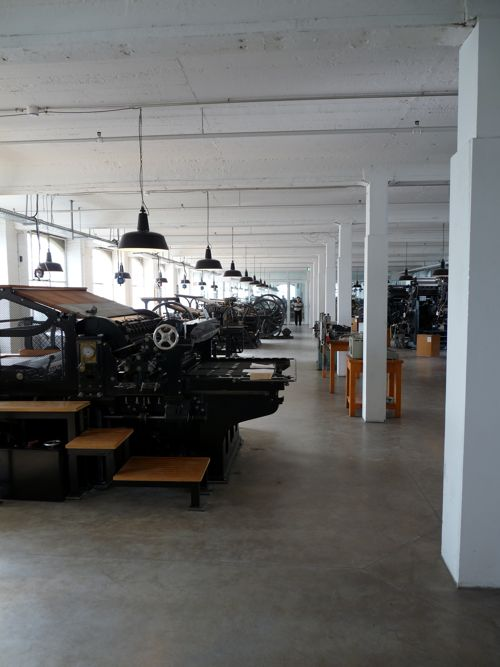 Presses in the Industry Museum