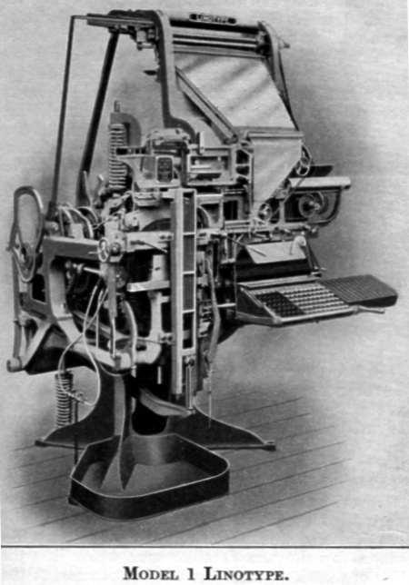 Lintype Model 1