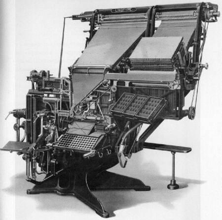Linotype model 14