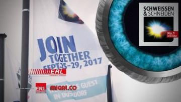 ERL und migal.co auf der SCHWEISSEN & SCHNEIDEN 2017