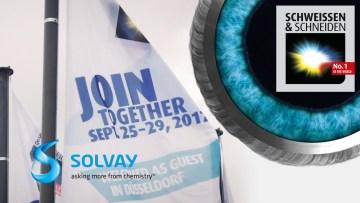 Solvay at the SCHWEISSEN & SCHNEIDEN 2017