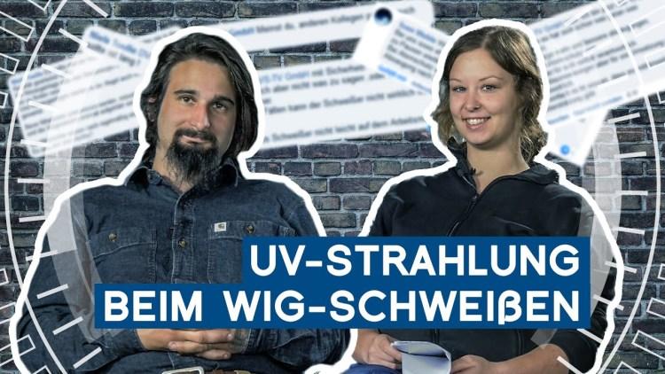 UV-Strahlung beim WIG-Schweißen   Nik kommentiert Kommentare