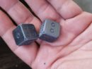 Zirconium Dice (Set of 2) Pre-order