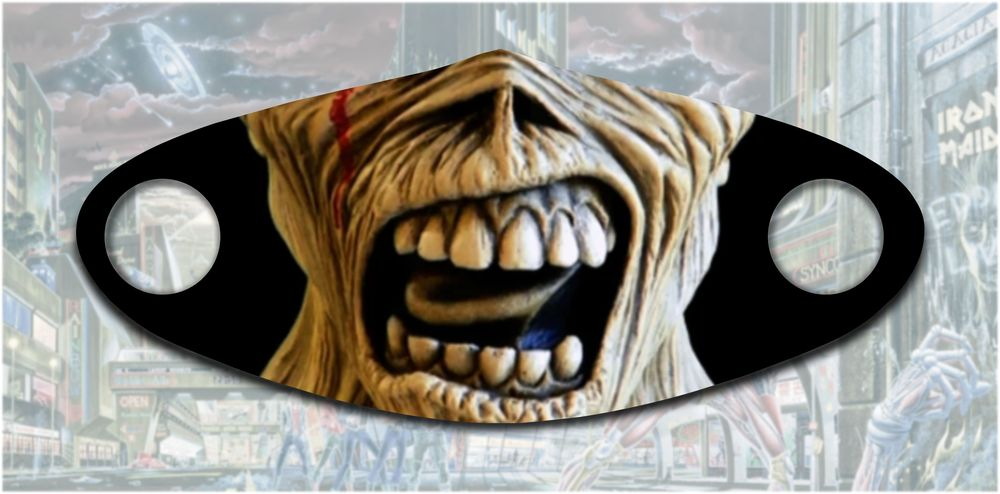 Iron maiden eddie mask